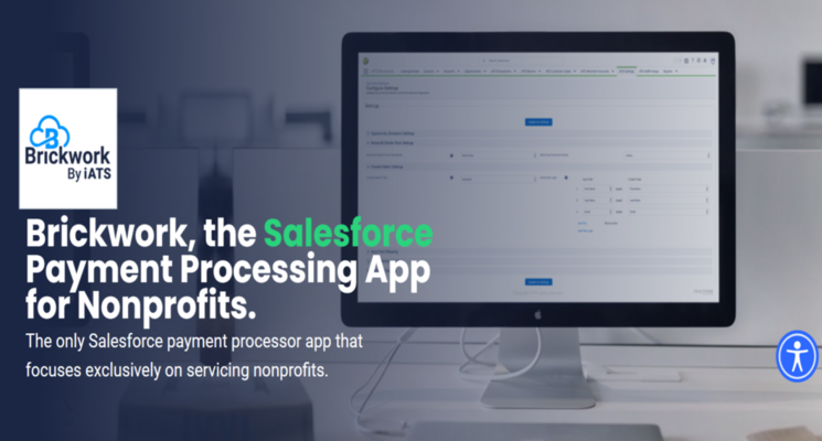 Check out the Brickwork by iATS app for Salesforce.