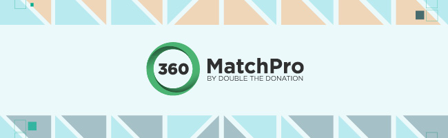 Maximize matching gift opportunities with the 360MatchPro app for Salesforce.